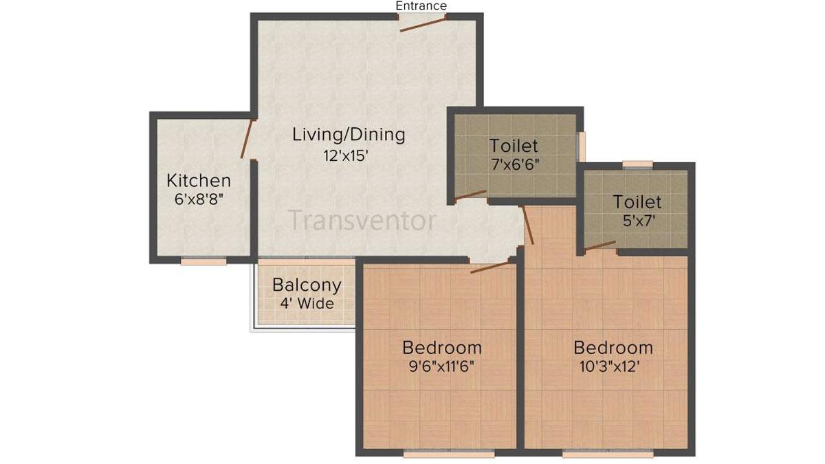 Loharuka Freshia Floor Plan 3