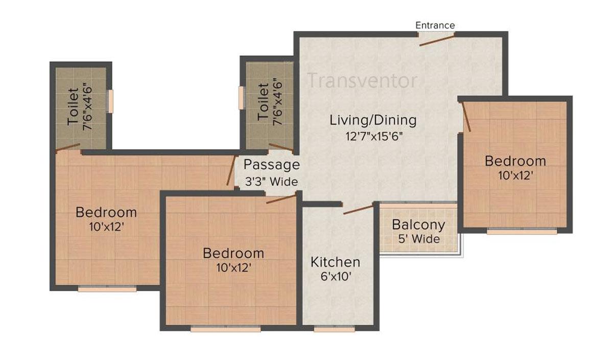 Loharuka Freshia Floor Plan 4