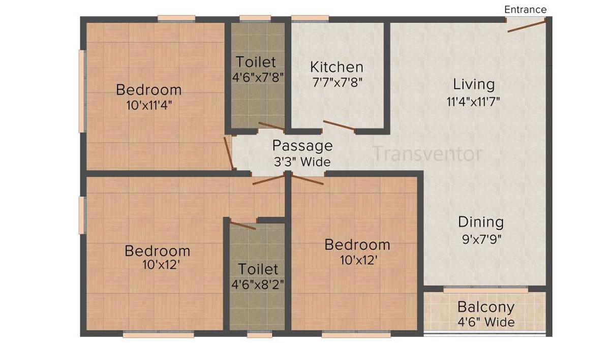 Loharuka Freshia Floor Plan 5