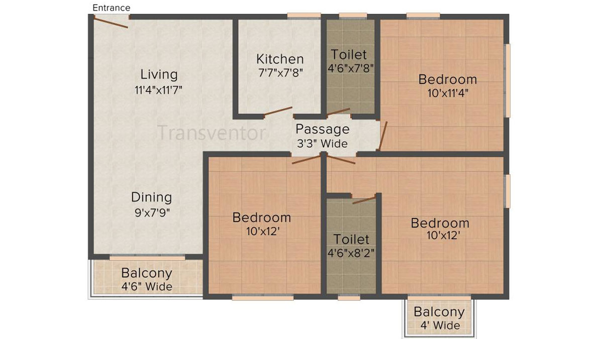 Loharuka Freshia Floor Plan 6