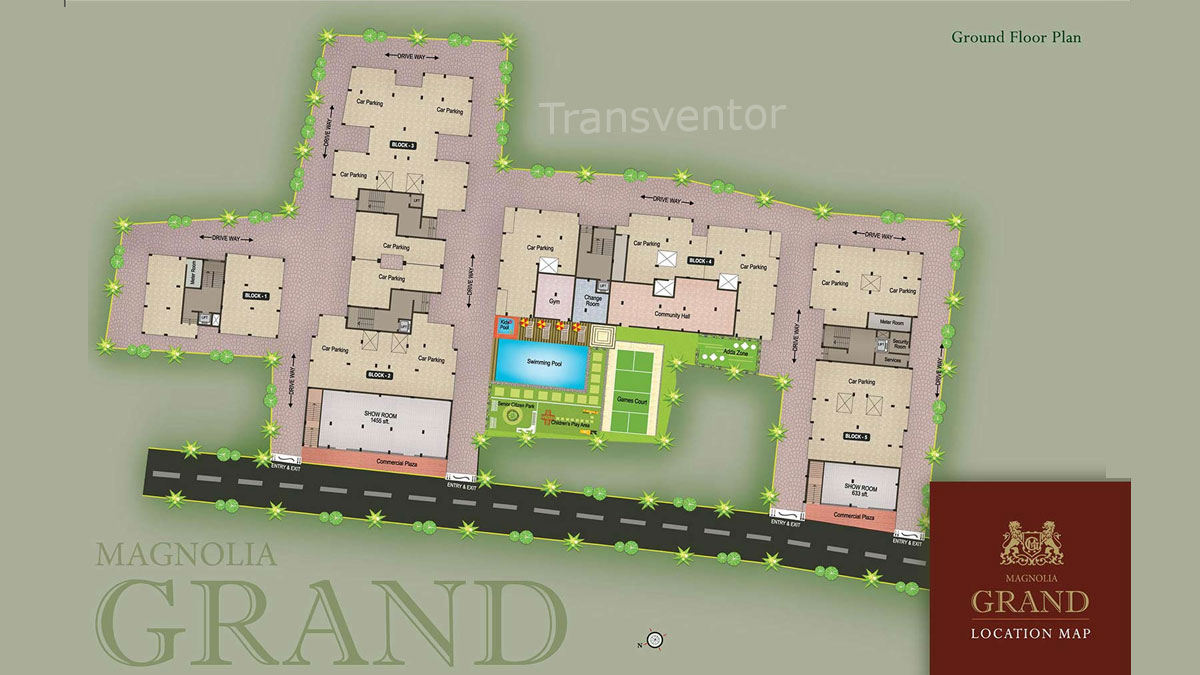 Magnolia Grand Floor Plan 1