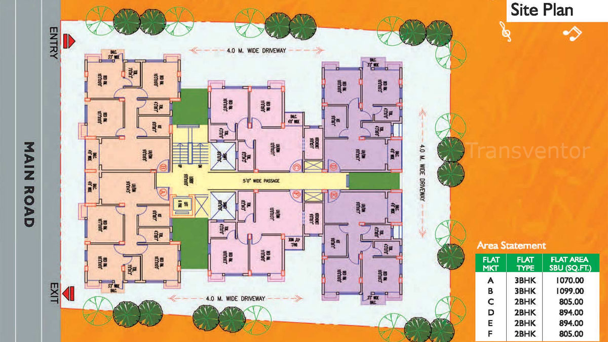 Magnolia Melody Floor Plan 1