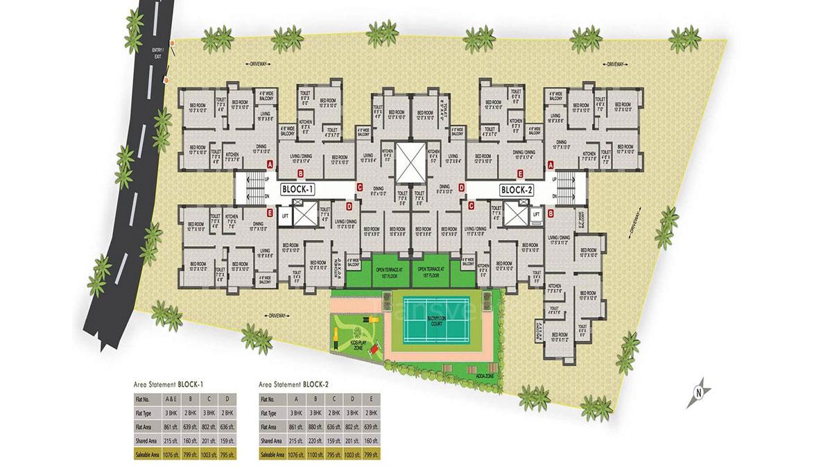 Magnolia Prime Floor Plan 1