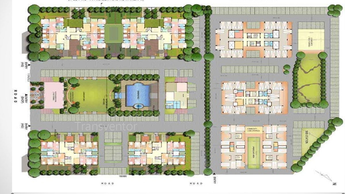 Greenfield Ambition Floor Plan 1