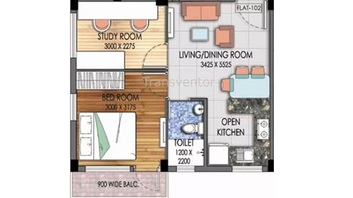 Mayfair Platinum Floor Plan 4