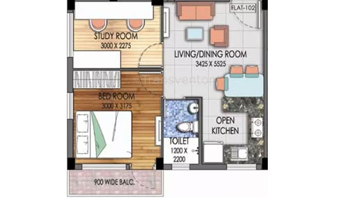 Mayfair Platinum Floor Plan 5
