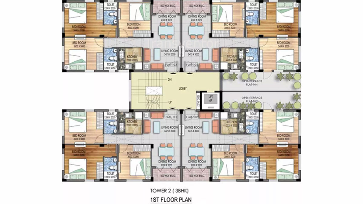 Mayfair Platinum Floor Plan 9