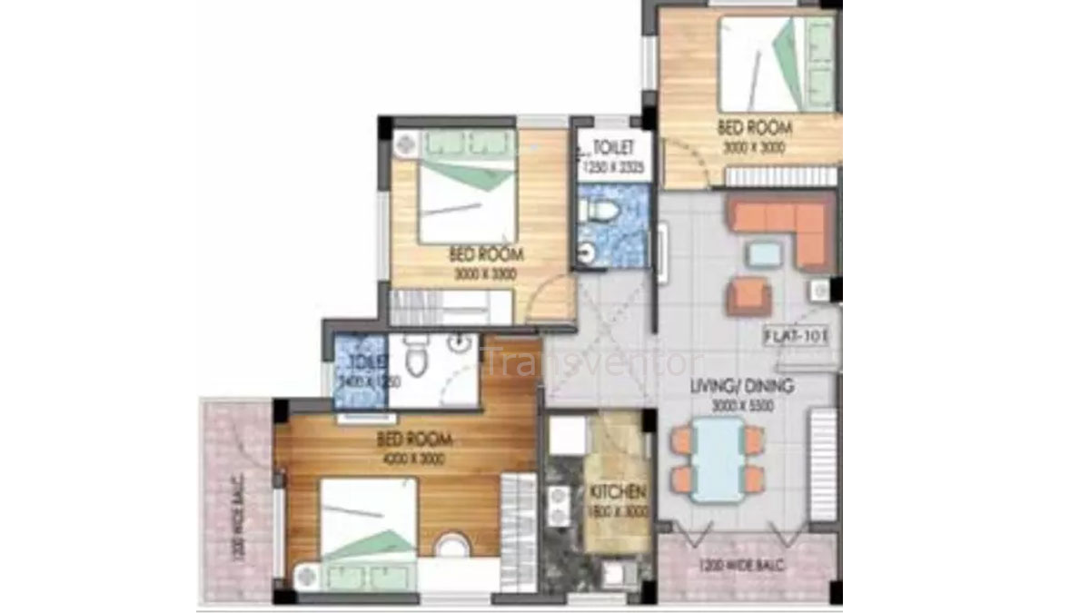 Mayfair Platinum Floor Plan 7