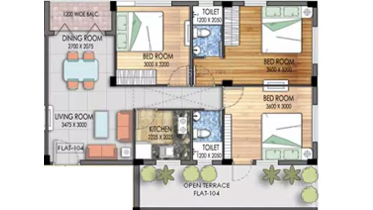 Mayfair Platinum Floor Plan 8