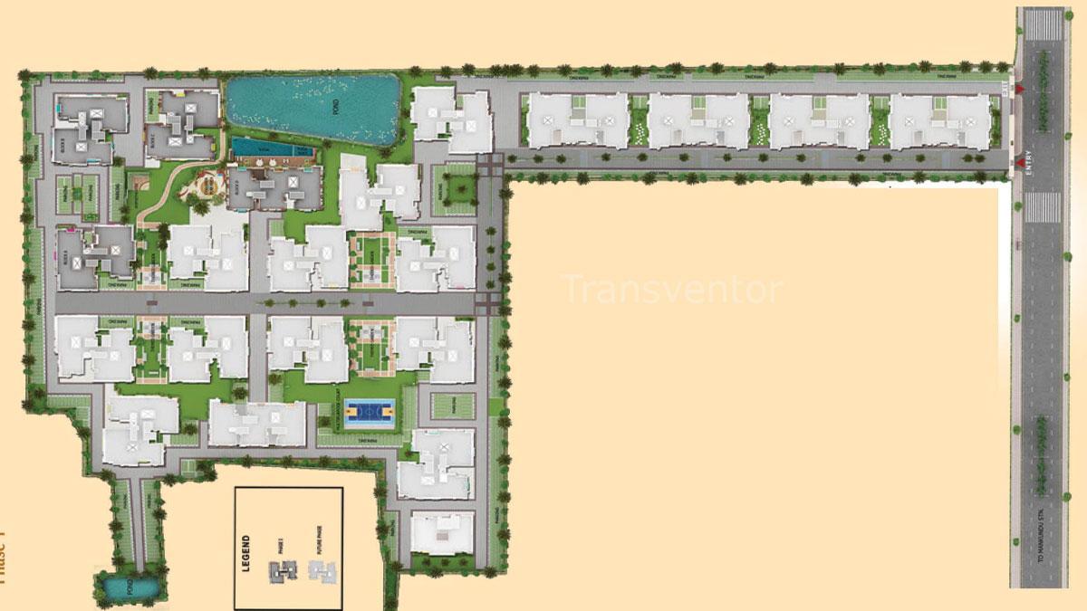 Signum Parkwood Estate Floor Plan 1