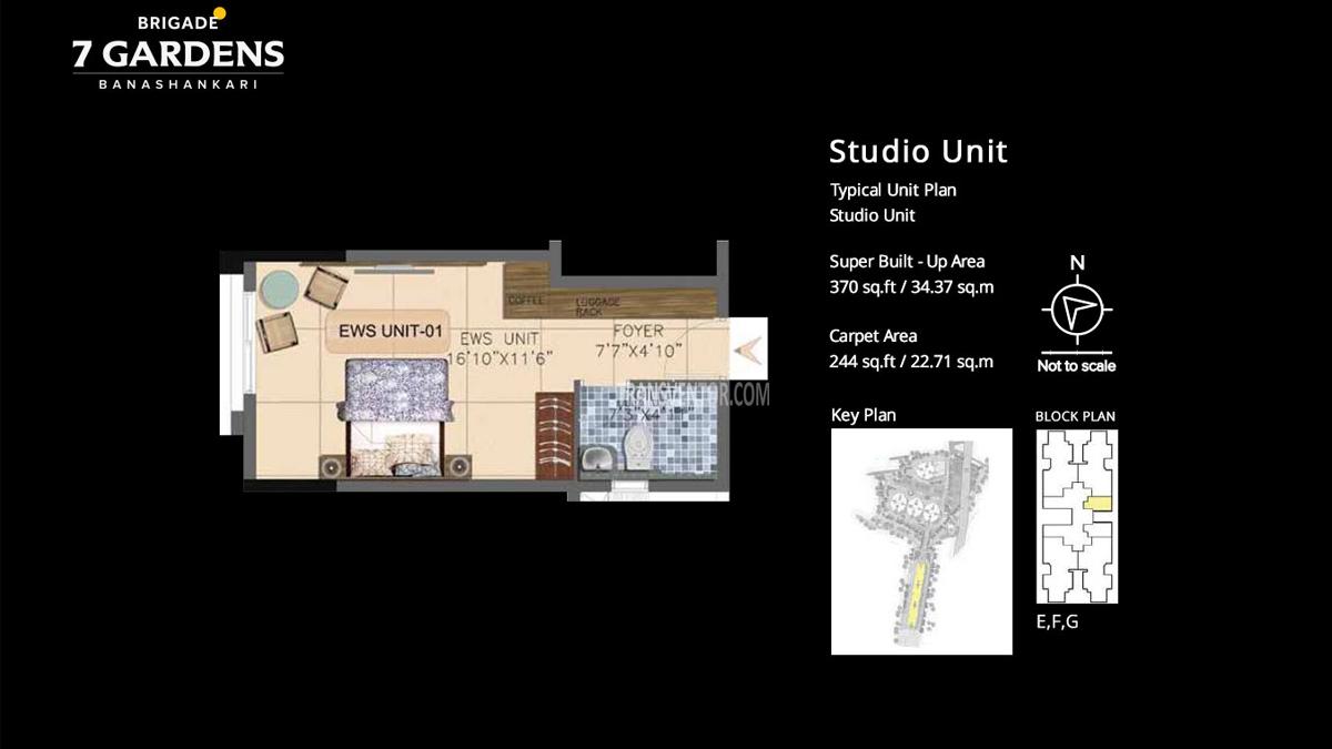 Brigade 7 Gardens Floor Plan 3