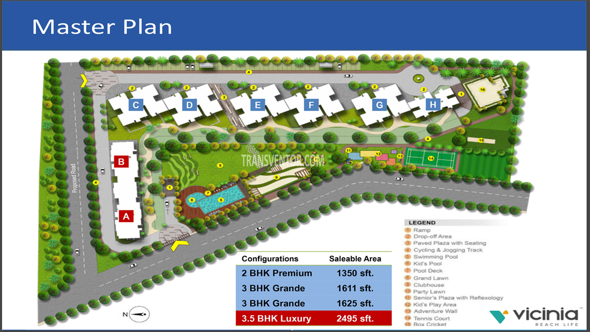 Shapoorji Pallonji Vicinia Floor Plan 1
