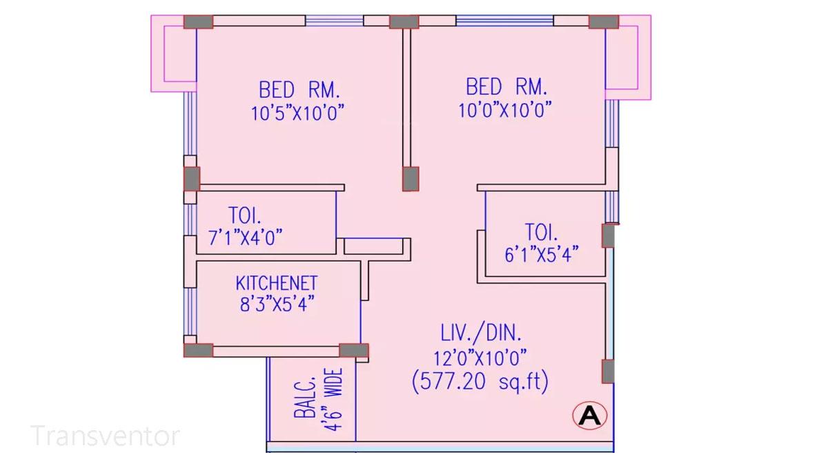 Riya Oxford Square Floor Plan 6