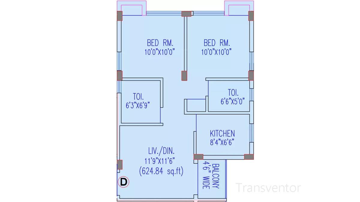 Riya Oxford Square Floor Plan 7