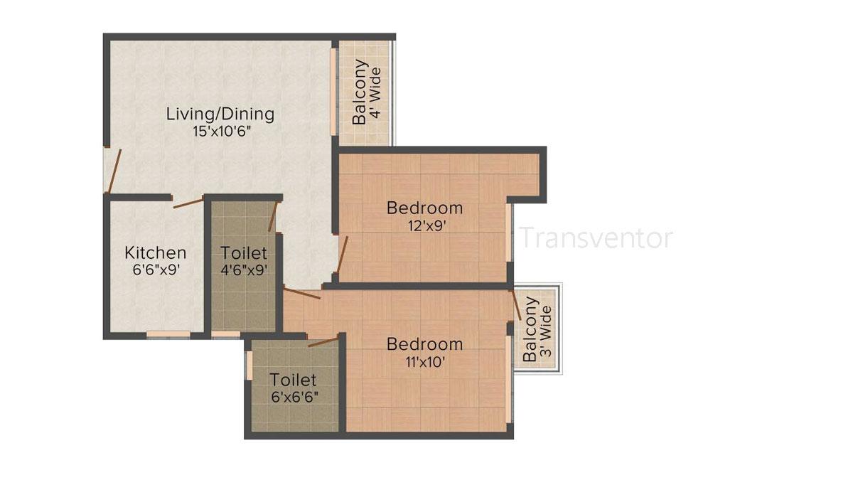 Vinayak Citrus Cove Floor Plan 2