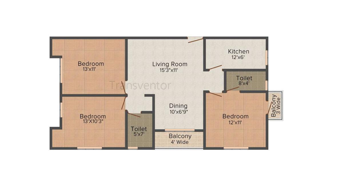 Vinayak Citrus Cove Floor Plan 5