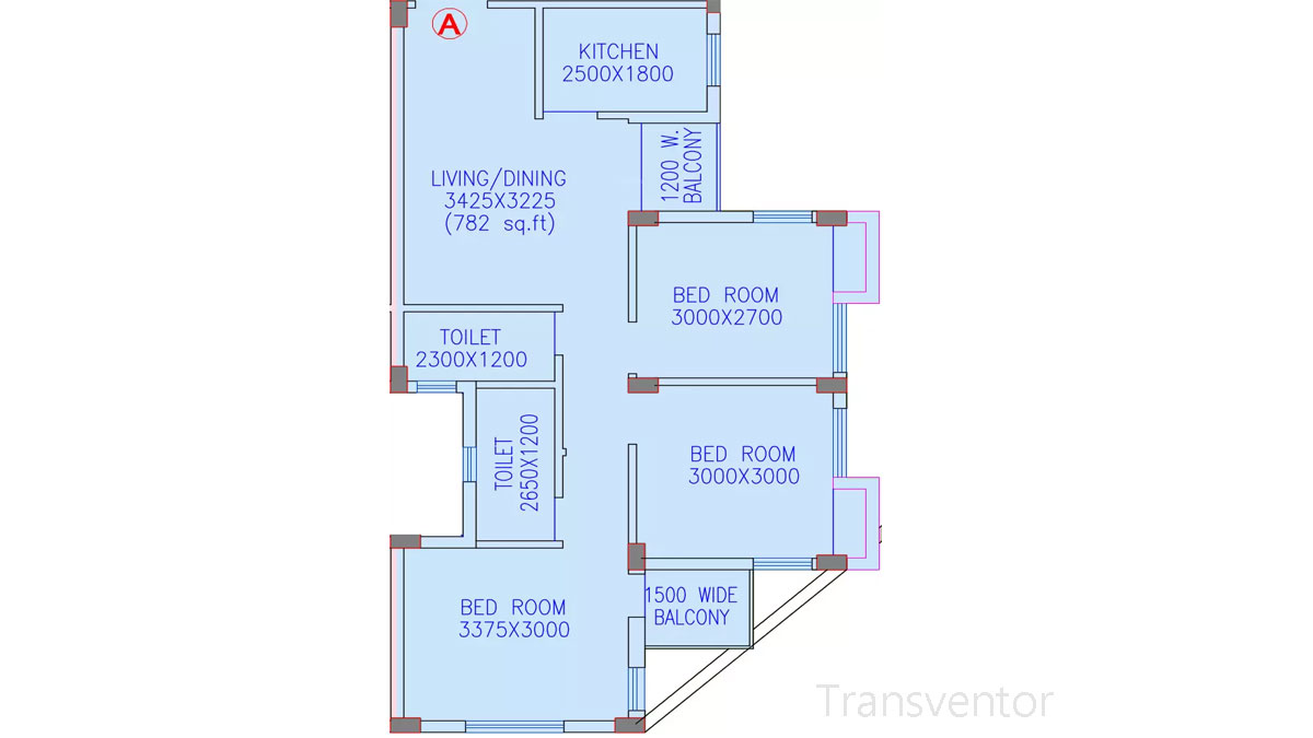 Riya Oxford Square Floor Plan 9