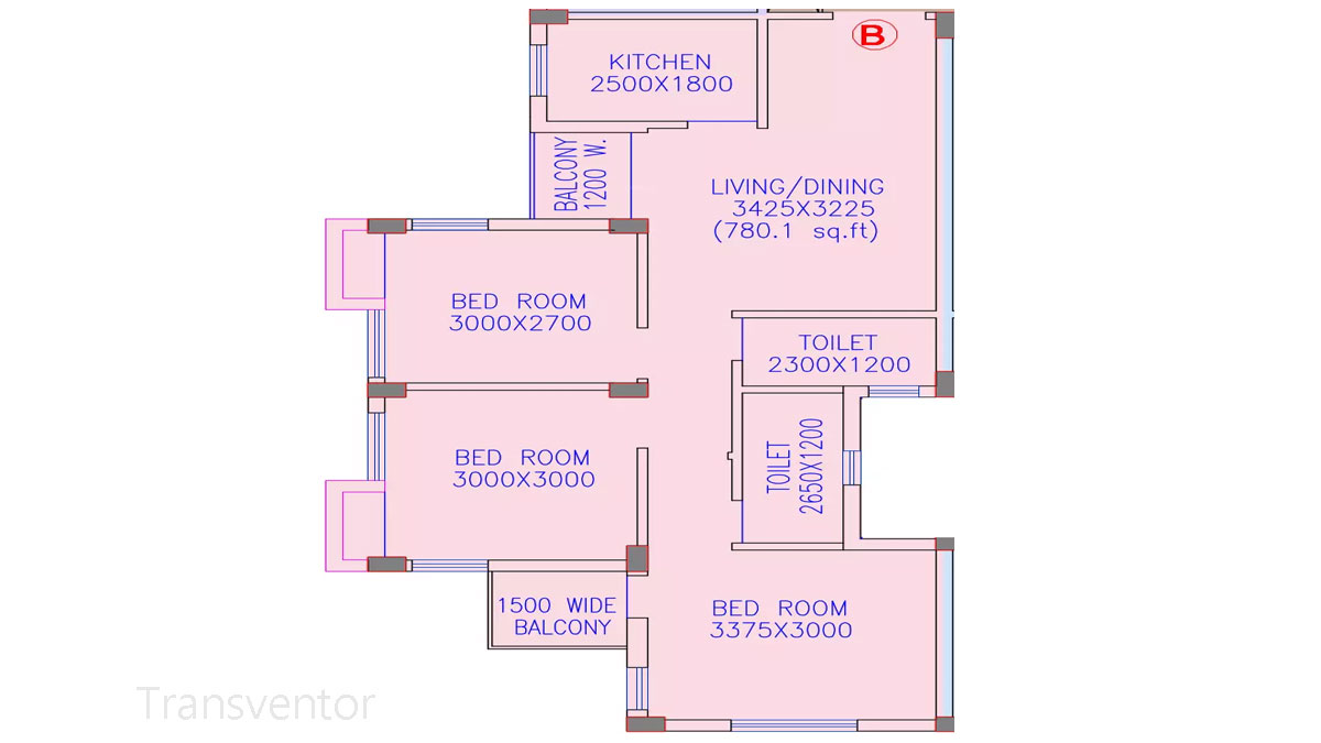 Riya Oxford Square Floor Plan 10