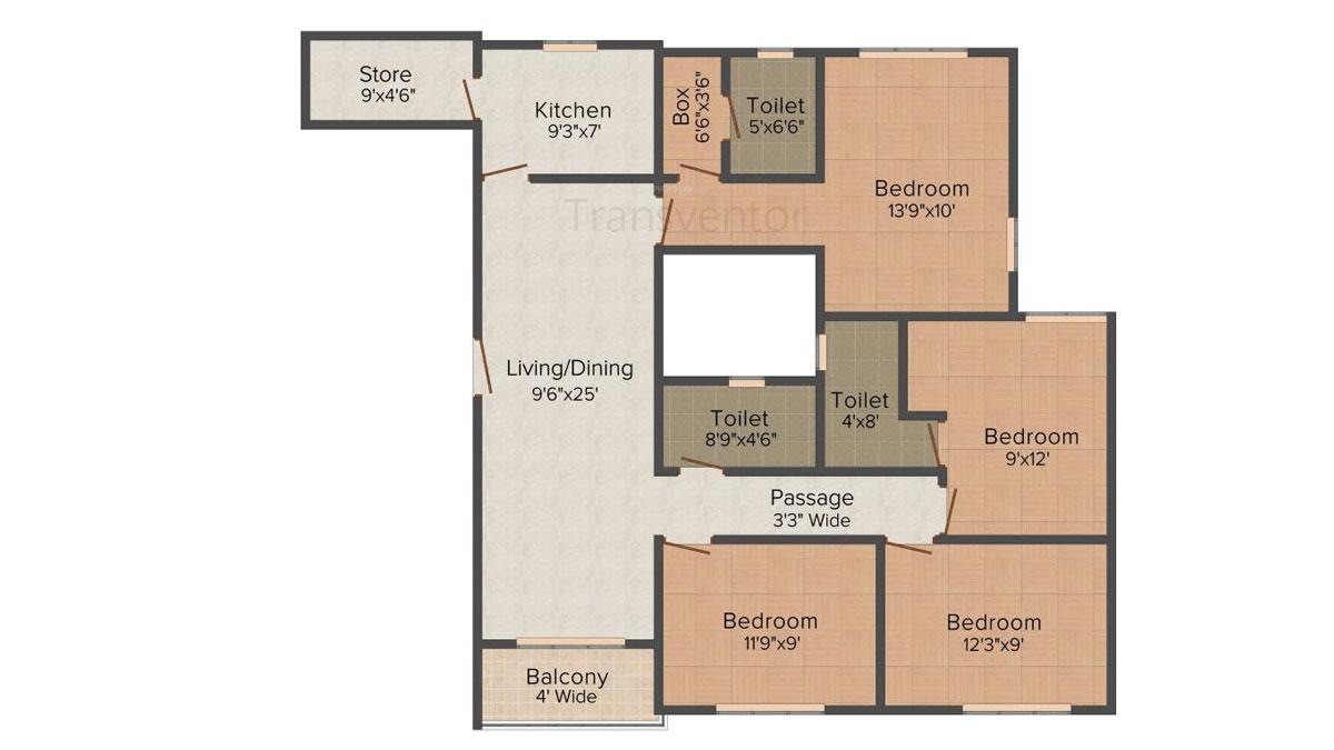 Vinayak Citrus Cove Floor Plan 6