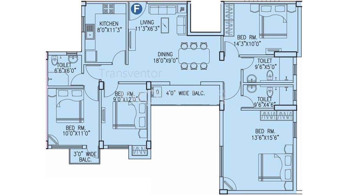 Vinayak Citrus Cove Floor Plan 7