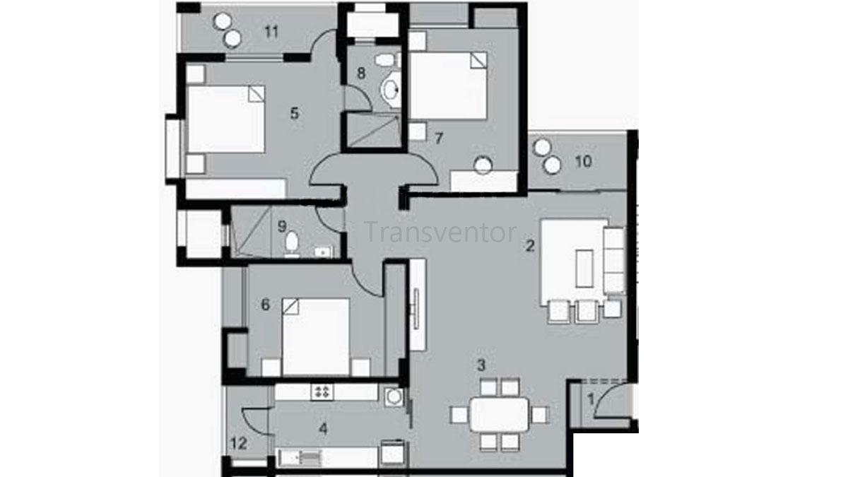 Bengal DCL Sampoorna Floor Plan 2