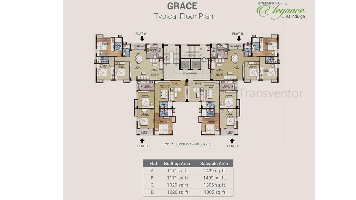 Bengal Greenfield Elegance Floor Plan 1