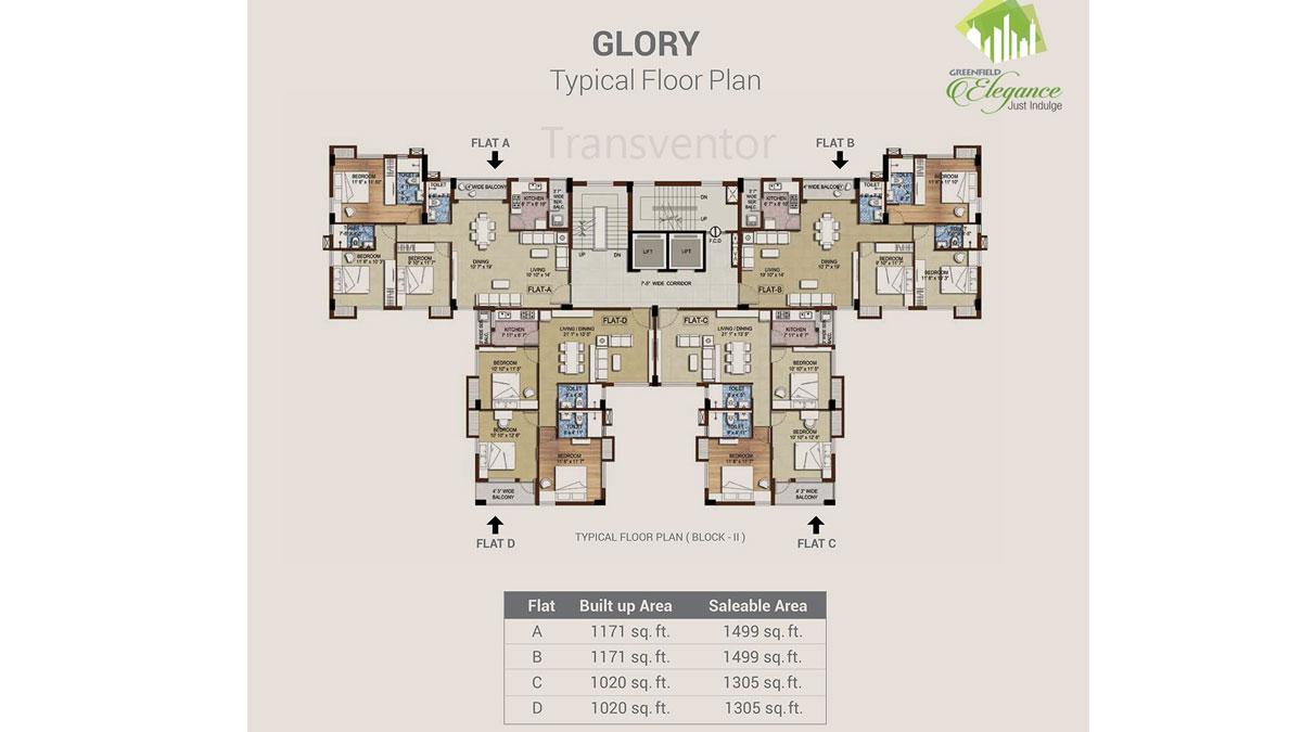Bengal Greenfield Elegance Floor Plan 2