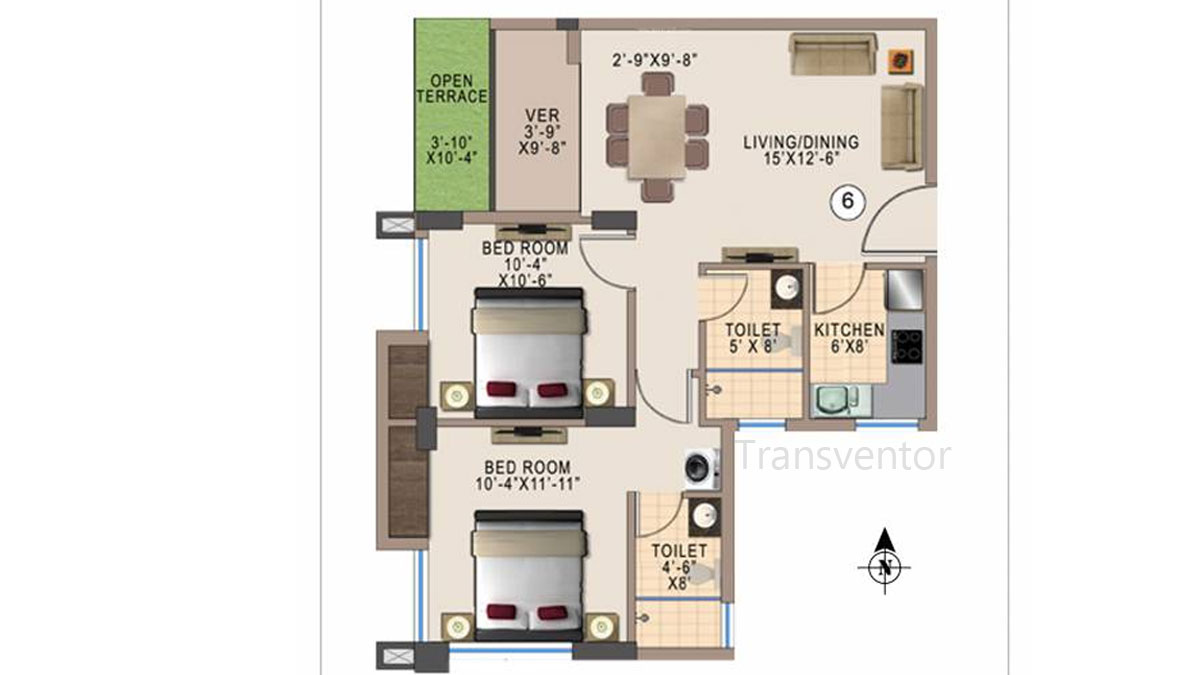 Kshetrum Aspire Floor Plan 1
