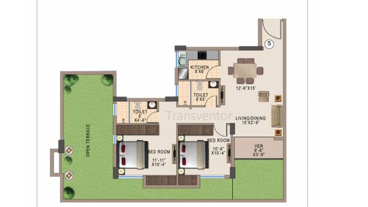 Kshetrum Aspire Floor Plan 4