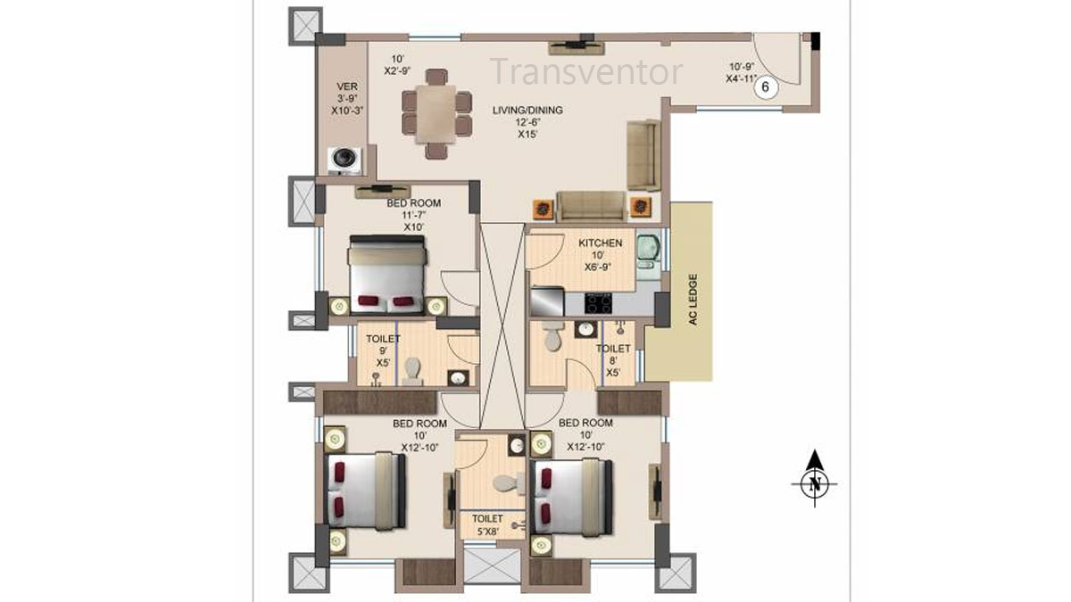 Kshetrum Aspire Floor Plan 8