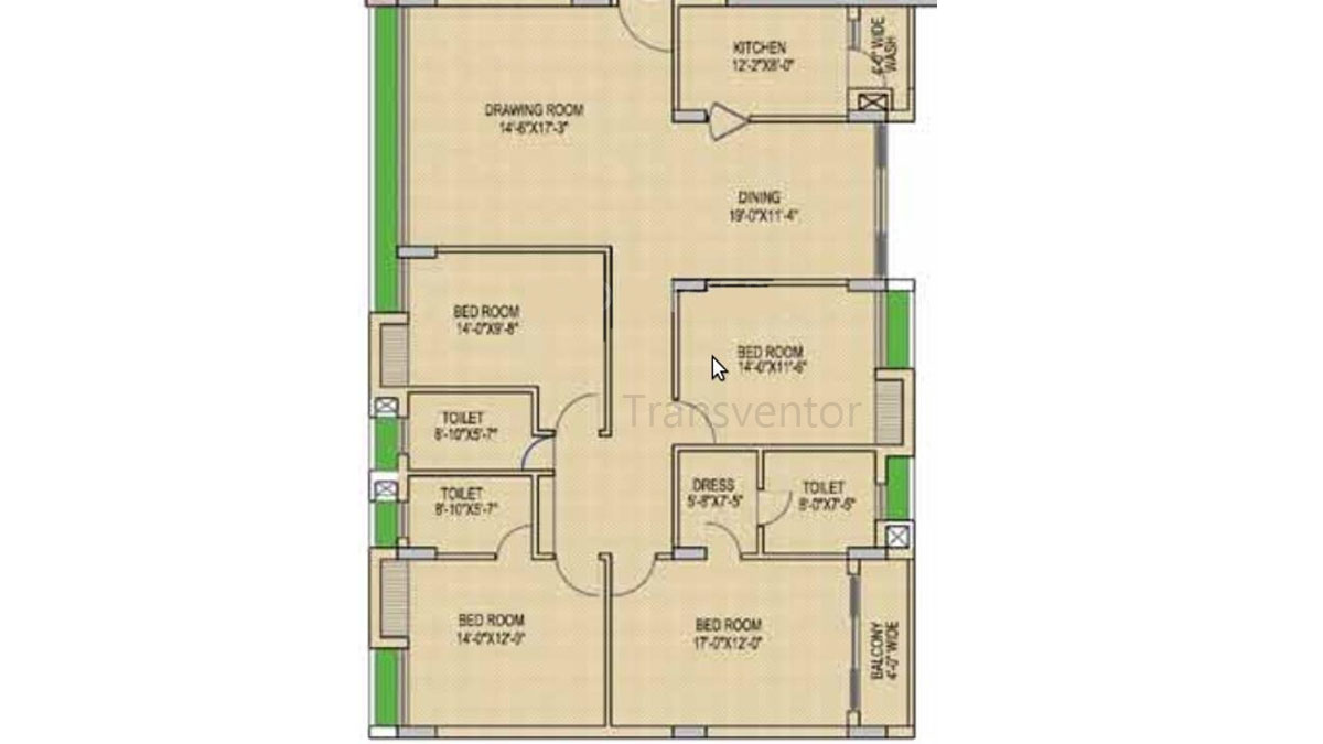 Mani Imperial Floor Plan 2