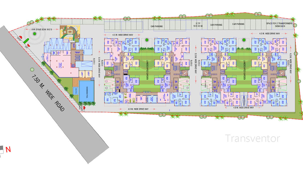 Riya Oxford Square Floor Plan 1