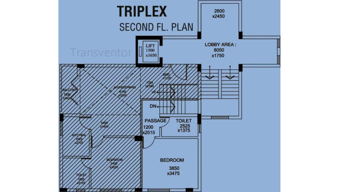 Orchid Grandeur Floor Plan 4