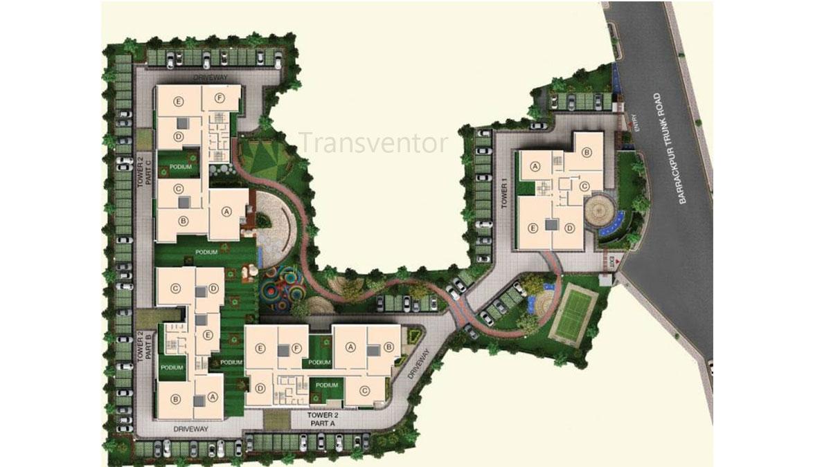 Space Clubtown Gateway Floor Plan 1