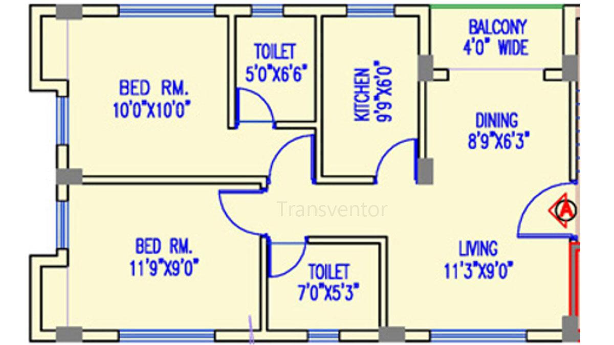 The Banyan Tree Garden Floor Plan 3
