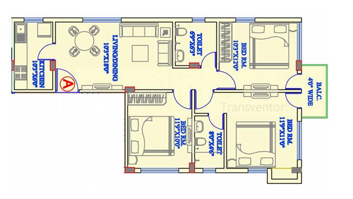 The Banyan Tree Garden Floor Plan 4