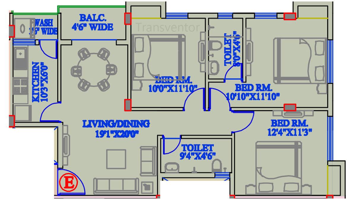 The Banyan Tree Garden Floor Plan 6