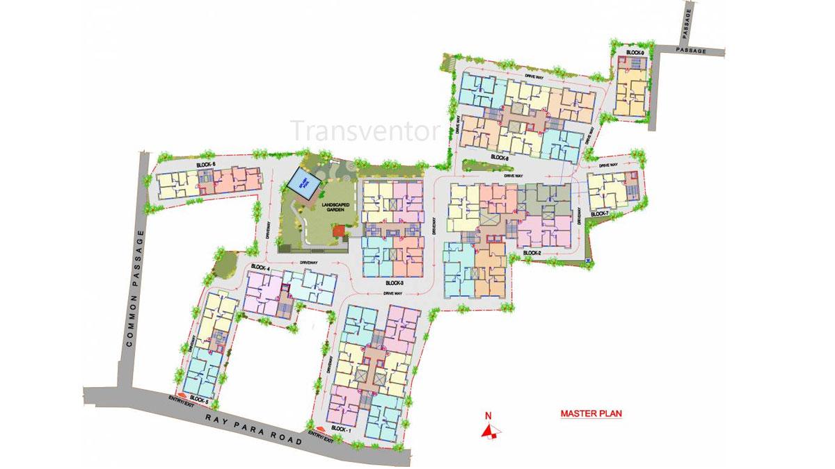 The Banyan Tree Garden Floor Plan 1