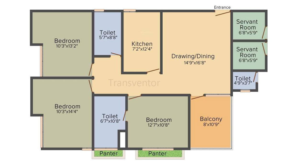 Vedic Spa Suites Floor Plan 2