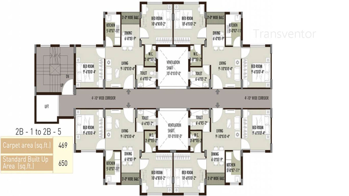 Newtown Grand Floor Plan 4