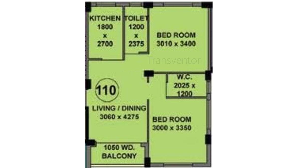 Mayfair Whitefield Floor Plan 1