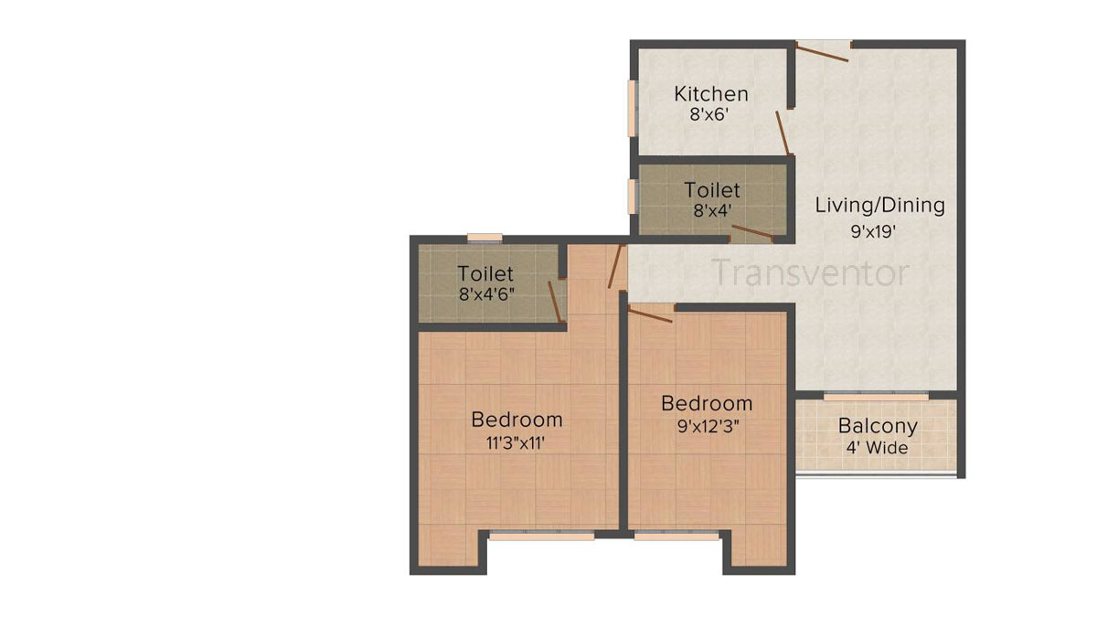 Vinayak Citrus Cove Floor Plan 2