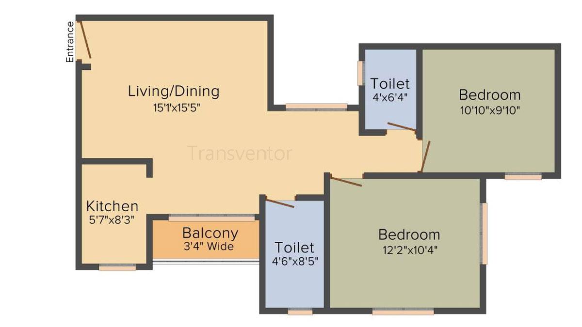 Mayfair Whitefield Floor Plan 2