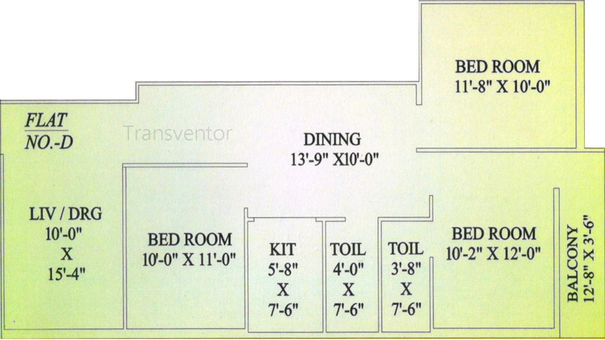 MN Sweety Tower Floor Plan 4