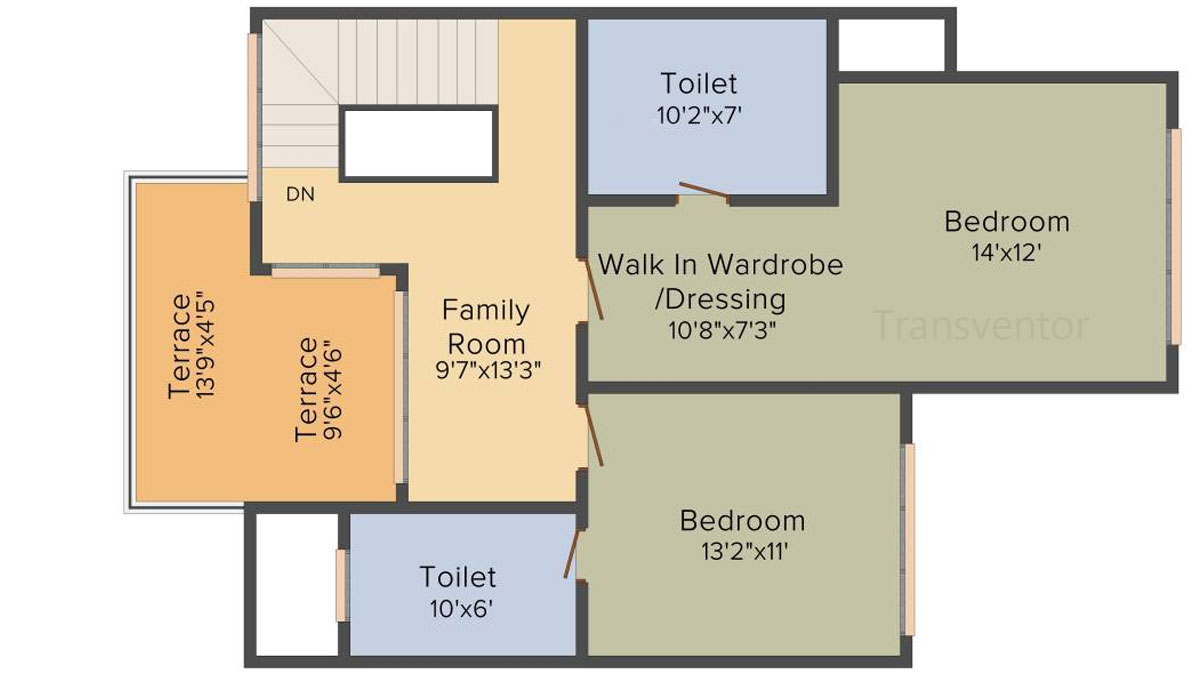 Ideal Villas Floor Plan 2