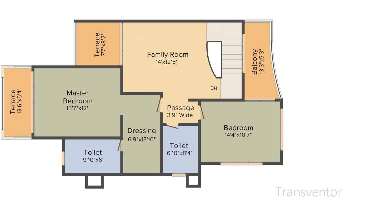 Ideal Villas Floor Plan 3