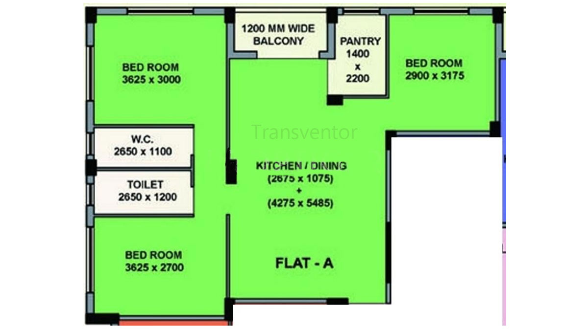 Mayfair Bloom Floor Plan 3