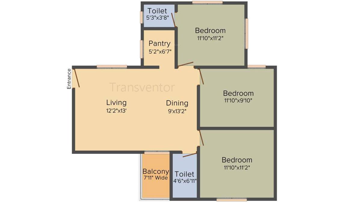 Mayfair Whitefield Floor Plan 3