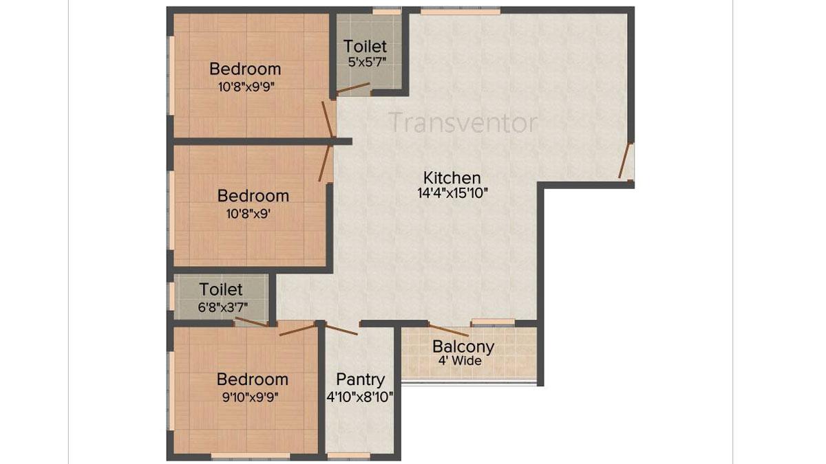 Mayfair Symphony Floor Plan 4