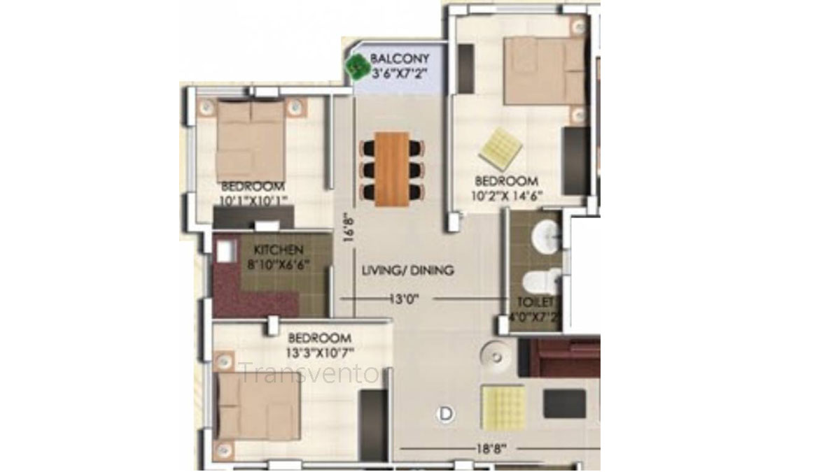Rajwada Nirvana Floor Plan 7